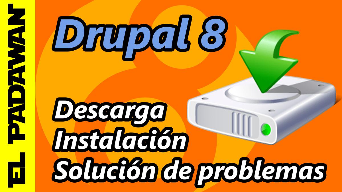 como instalar drupal 8 en español