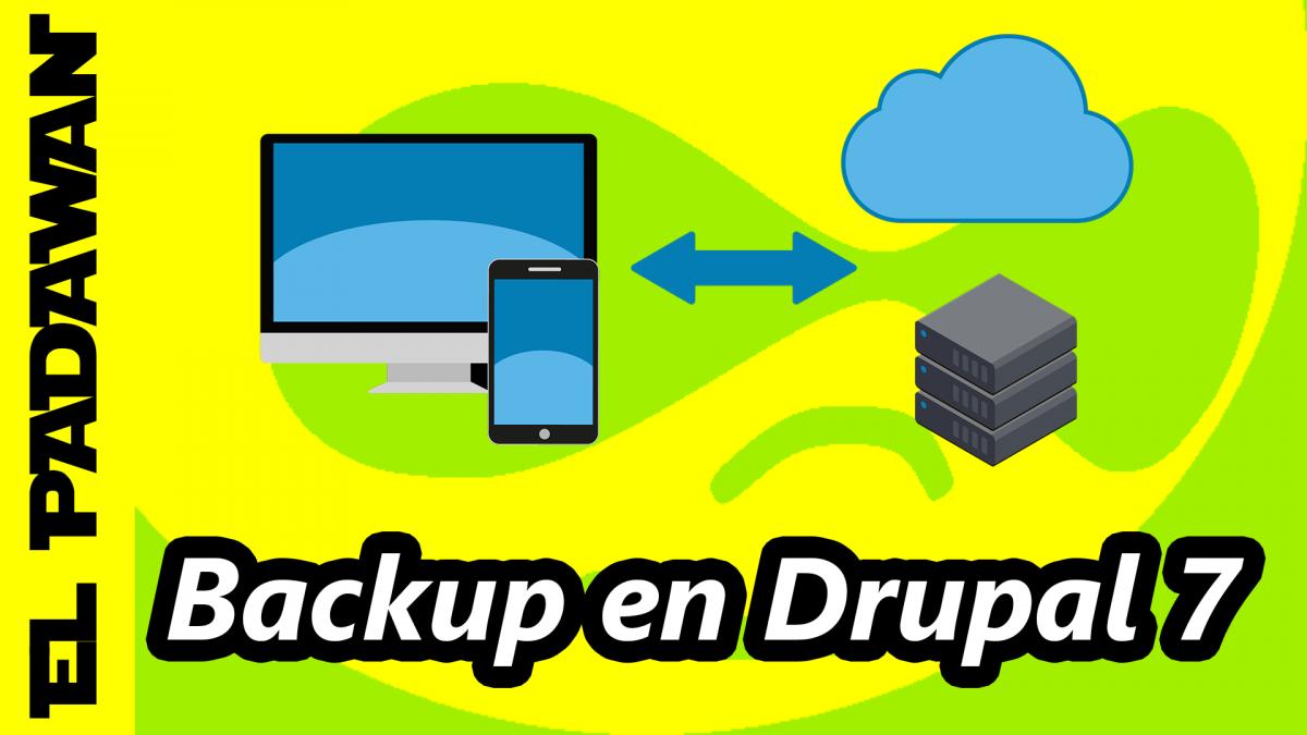 Drupal 7 backup