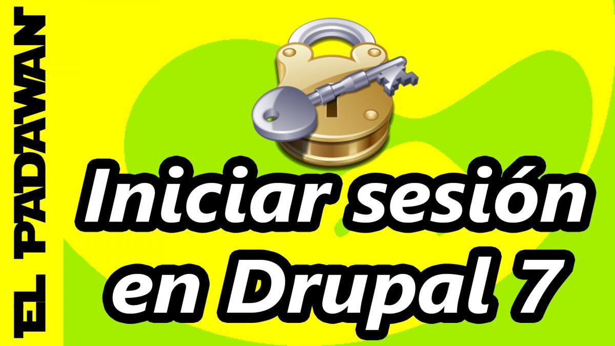 login drupal 7