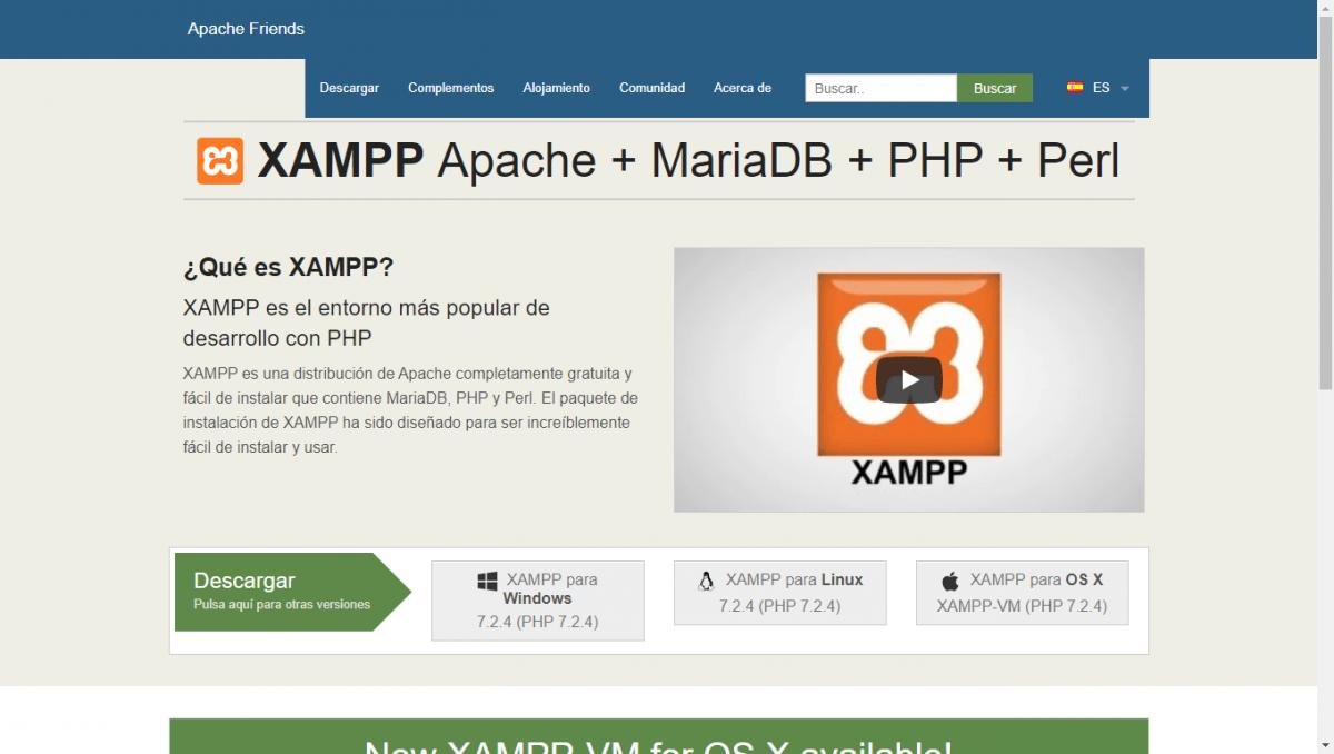 ▷ Descargar XAMPP e Instalarlo en Windows | El Padawan