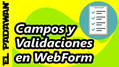 Campos y validaciones de Webform en Drupal 7