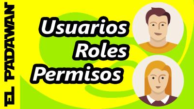 Usuarios, roles y permisos en Drupal 7