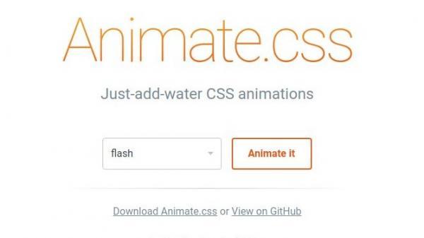 animated css